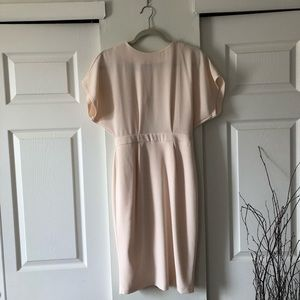 Asos pink/ cream dress size 4